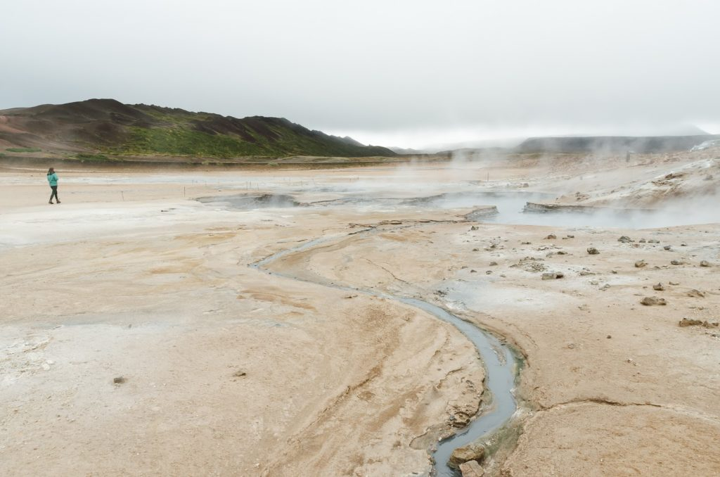 Hiking around Myvatn - 10 routes in the North of Iceland