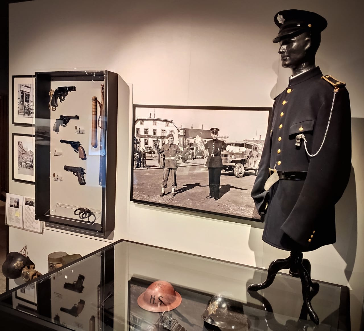 Exhibition at the Icelandic wartime museum