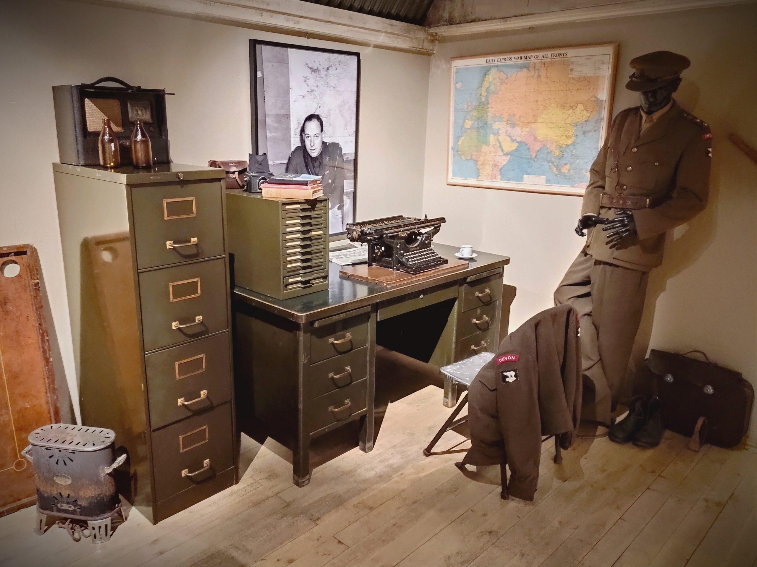War time museum centrla exhibition
